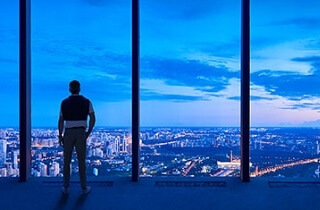 Башня Федерация. Лучшие виды в Сити