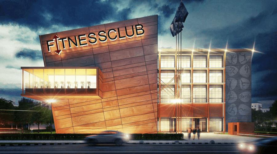 'Экспрессивный' проект фитнес-клуба представили в Москве