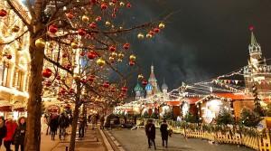Париж, Нью-Йорк и Москва приготовились к Рождеству и Новому году