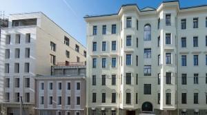На «Полянке/44» открыты фасады исторического особняка «Шафран»