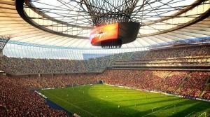 Как выглядят самые крутые стадионы страны?