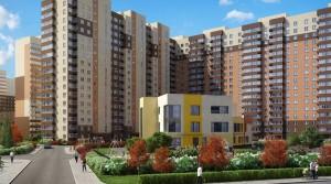 «Главстрой» начал строительство второго детского сада в подмосковном...