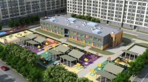 В жилом квартале «Наследие» утверждены архитектурные решения детского...