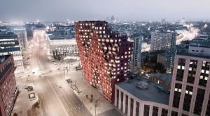 В центре Москвы приступили к устройству свайного поля премиального...