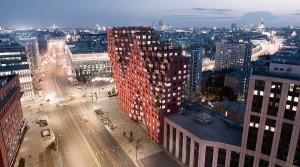 Комплекс RED7 по проекту голландского архбюро MVRDV представит Москву...