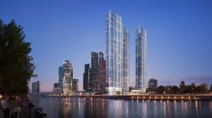 Предложение жилья в небоскребах Москвы сократилось на 31%