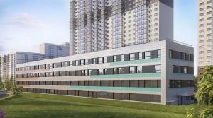Группа «Эталон» ввела в эксплуатацию здание поликлиники в ЖК...