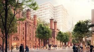 Зарубежные архитекторы высоко оценили проект развития территории...