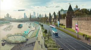 Живые цветы в метро, зеленые дома и дополненная реальность: какой видят Москву в 2050 году будущие архитекторы