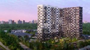 На строительстве ЖК «Гоголь парк» залит последний кубометр бетона