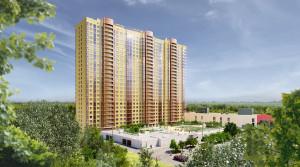 В ЖК «Золотые ворота-2019» завершены фасадные работы