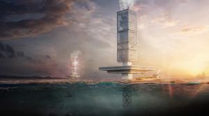 Архитектор разработал проект небоскреба по переработке мусора в Тихом...