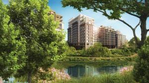 Камины, зимние сады и собственные террасы: старт продаж квартир в новой «Реке»
