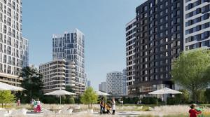 В «Символе» построят дом с двухуровневыми квартирами и террасами