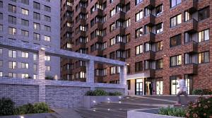 ГК «Основа» приступила к устройству немецких клинкерных фасадов в квартале MainStreet